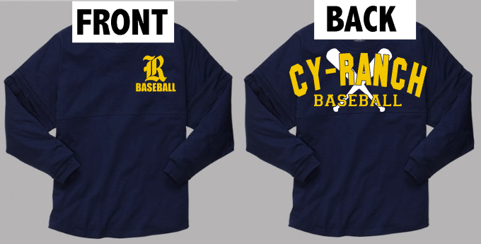 Cy- Ranch Spirit Jersey with bats