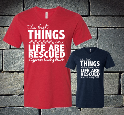 The Best Things in Life are Rescued - Youth Sizes