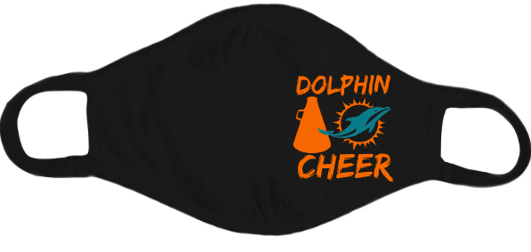 Dolphins Cheer Mask
