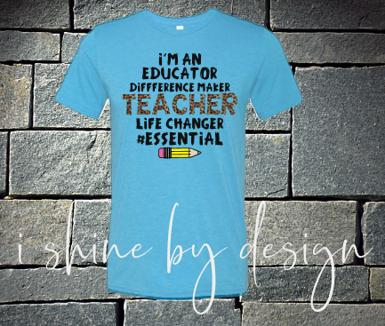 Teacher #essential