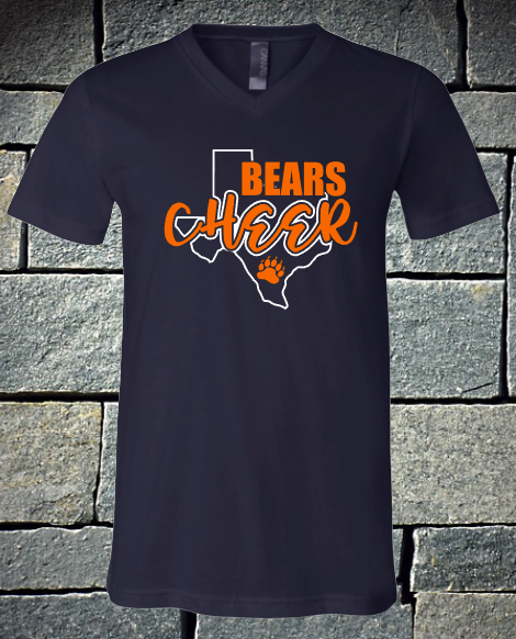 NEW 2020 Bears cheer state of Texas