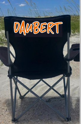 Name on Chair