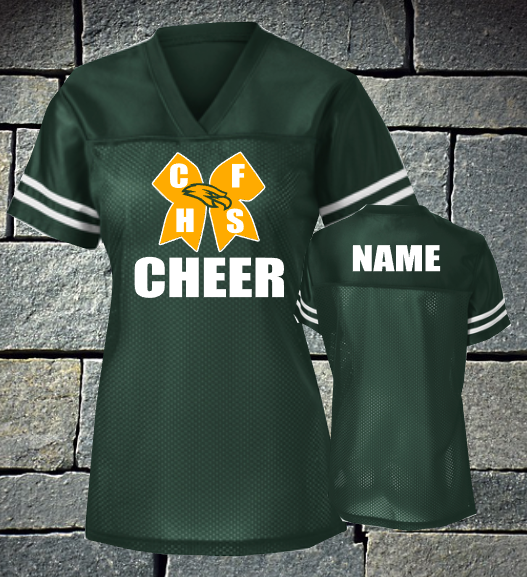 Cy Falls Cheer Ladies Replica Football Jersey