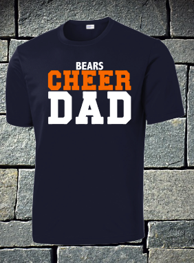 Bears cheer dad