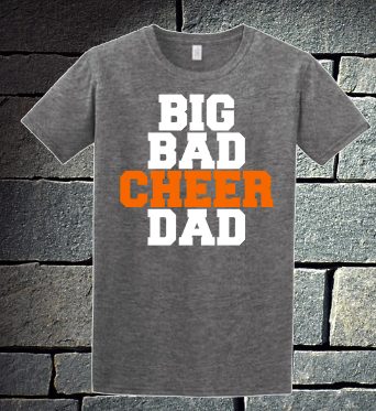 Big Bad Cheer Dad - Orange