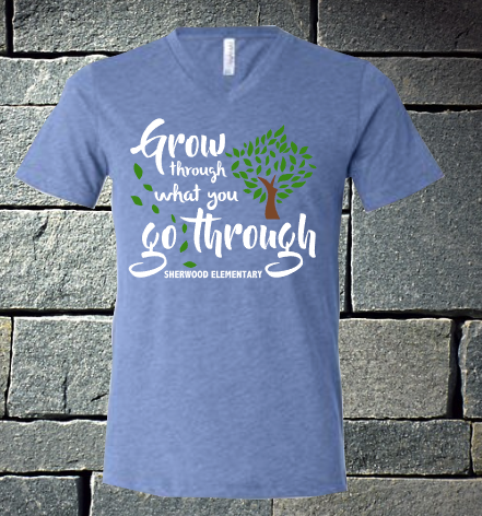 Grow through what you go through - Sherwood Elementary