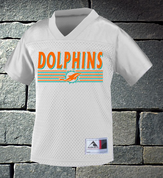 Dolphins Toddler and Youth football jersey