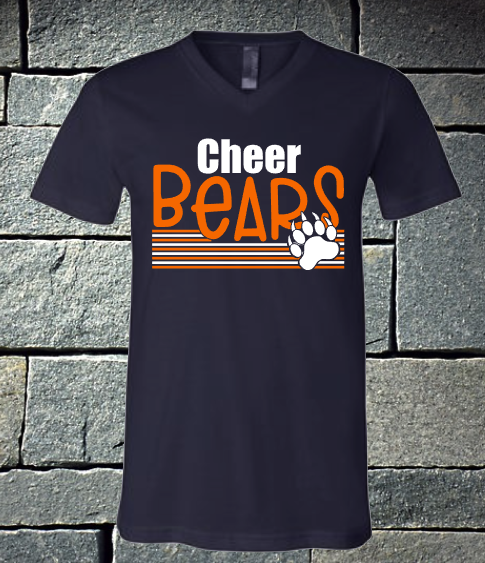 NEW 2020 Bears Cheer with Paw