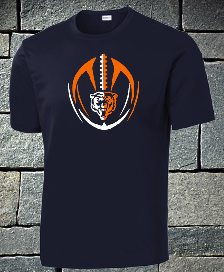 NEW 2020 Bears 2 color football - mens