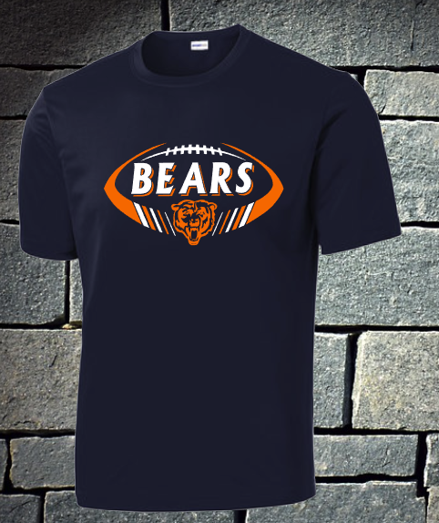 NEW 2020 Bears 2 color football2 - mens