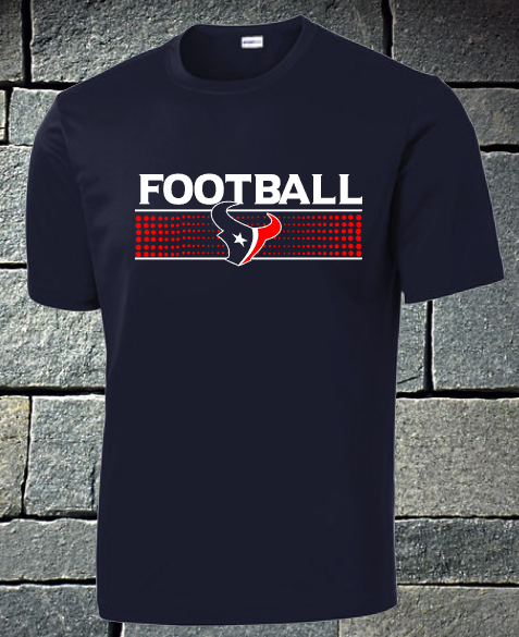 Texans Football dri fit