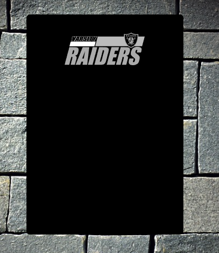 Raiders gaiter