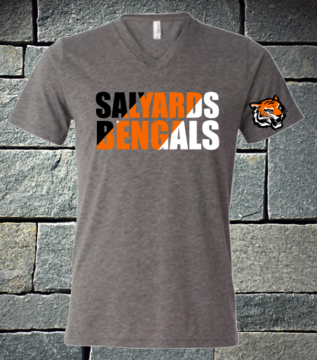 Salyards Bengals three color with logo on the sleeve