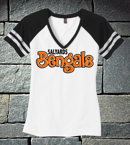 Salyards Bengals V-neck