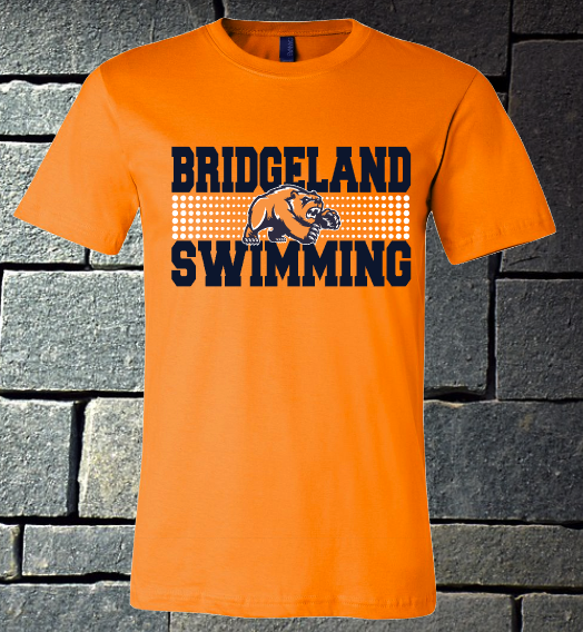 Bridgeland Swimming - ladies orange