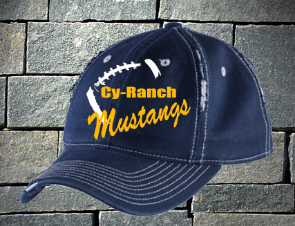 Cy Ranch Mustangs Football Hat