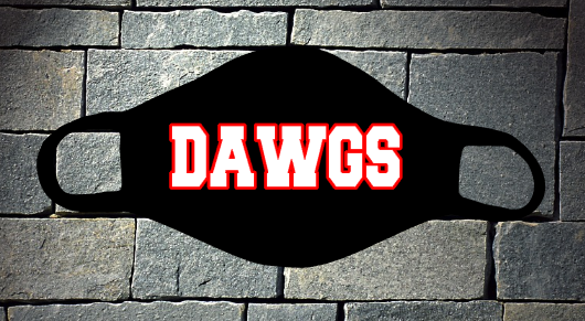 Dawgs mask