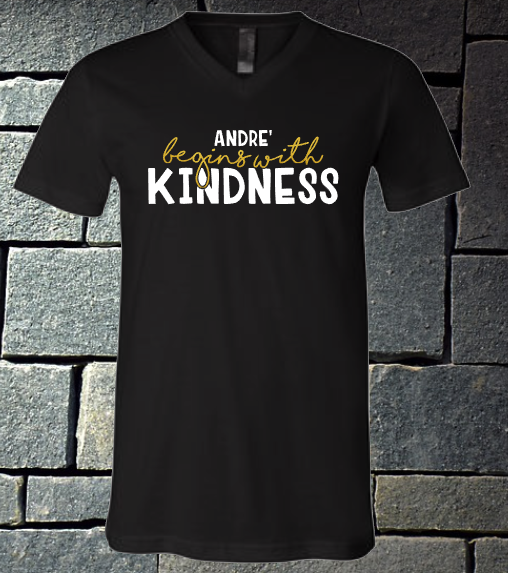 Andre' Begins with Kindness
