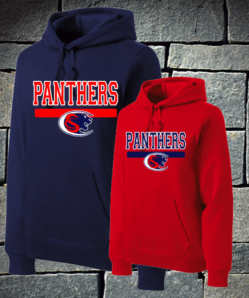 Panthers with logo hoodie