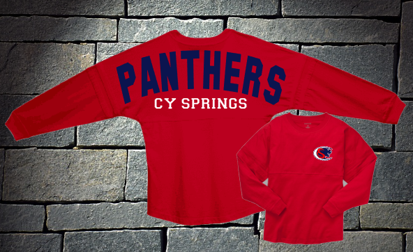 Cy Springs Panthers Spirit Jersey