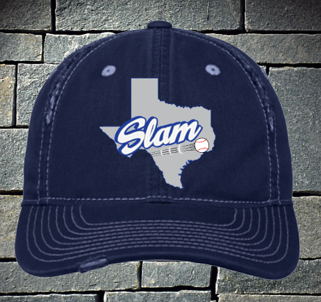 Copy of Slam baseball ripped and distressed baseball hat
