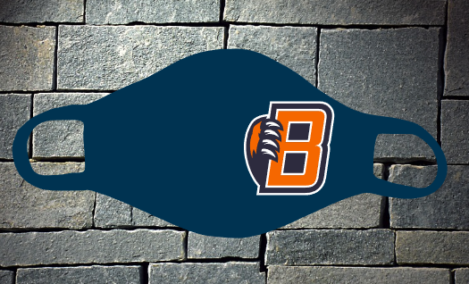 Bridgeland B logo mask