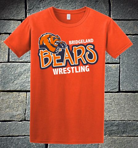 Bridgeland Bears Wrestling - orange