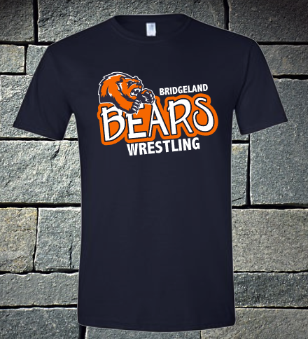 Bridgeland Bears Wrestling - navy