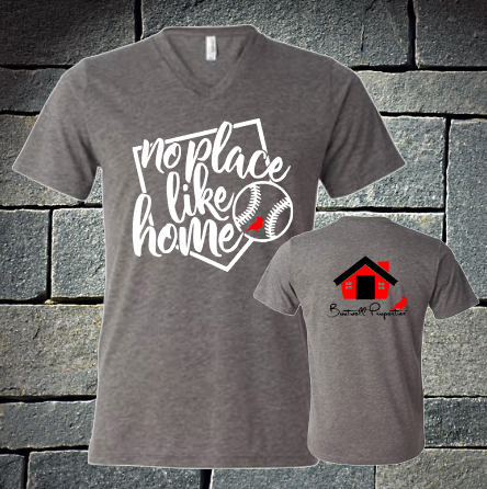 No place like home - Boutwell - Grey triblend