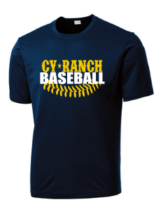 Cy Ranch Baseball with laces Navy