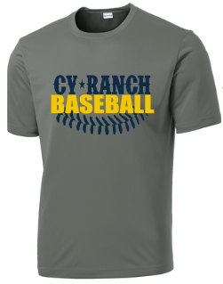 Cy Ranch Baseball with laces Grey