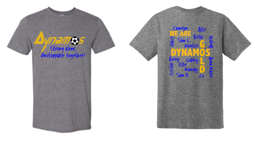 Dynamos Gold 14U Spirit Shirt