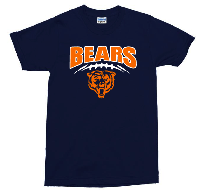 Mens and youth Bears T-shirts