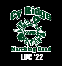 Cy Ridge Band Car Decal