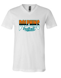 Dolphins Three Color Football