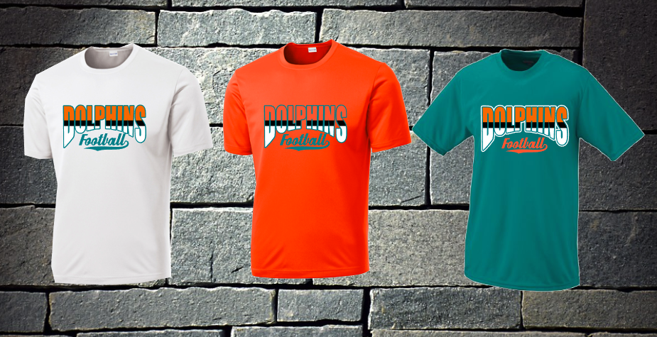 Dolphins 3 color - mens options