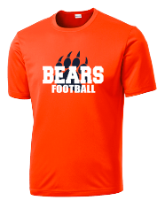 Bears Football with Claw - Mens
