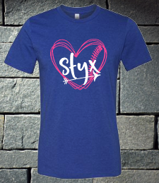 Styx Softball heart