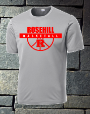 Rosehill Basketball Short sleeve dri fit