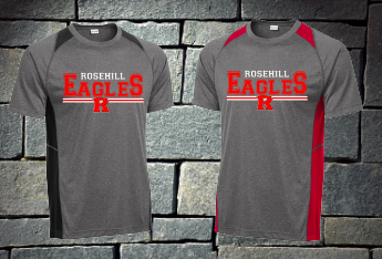 Rosehill Eagles short sleeve colorblock