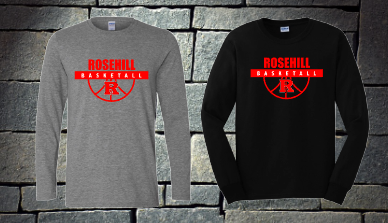 Rosehill Basketball long sleeve T-shirt