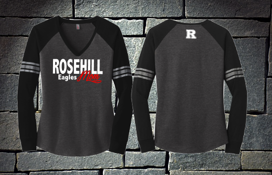 Rosehill Eagles Mom - District long sleeve