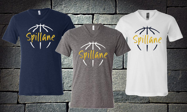 Spillane basketball outline
