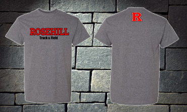 Rosehill Track and Field Short Sleeve T-shirt