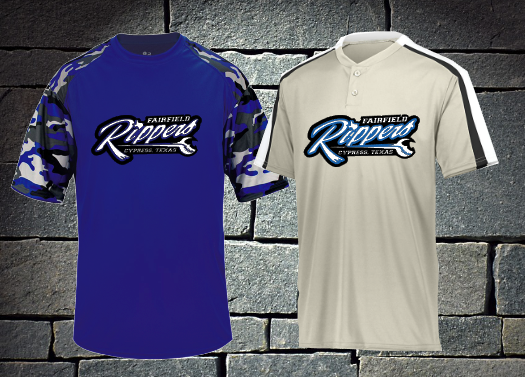 Rippers 7U 2019 Uniform - Coach Ewing