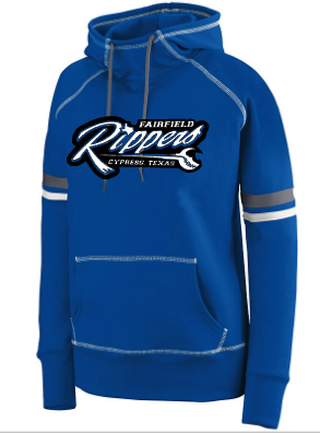 Rippers Augusta Ladies Hoodie with thumbies