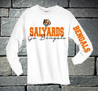 Salyards Go Bengals long sleeve