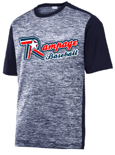 Rampage Baseball Electric Heather Colorblock