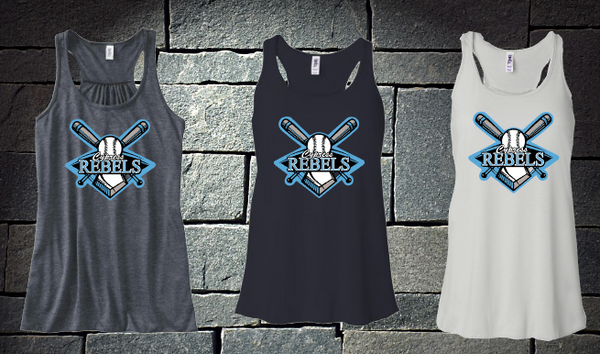 Cypress Rebels Logo Tank