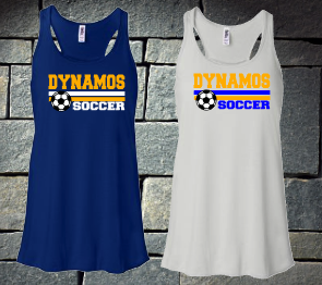U14 gold Ladies Tank